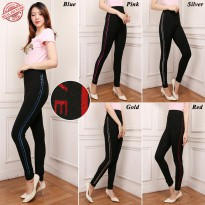 Cj collection Celana legging panjang wanita jumbo long pant Loura