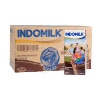Indomilk UHT Cokelat 1000 ml Isi 12 pcs