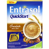 Entrasol Quick Start Chocolate With Oat 5x30 gram