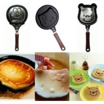 Teflon Frying pan mini wajan anti lengket telur roti biskuit cake