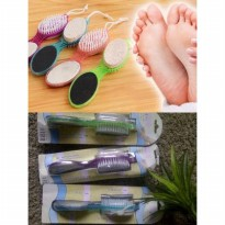 4 Step Pedicure Paddle Brush Perawatan Kaki