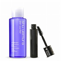 Paket SHU UEMURA Cleansing Oil 20ml + LANCOME Hypnose Star Waterproof Mascara 2ml