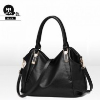 [500GR] TAS WANITA IMPORT - KOREAN STYLE M562| PU LEATHER|(36X26)cm|TP&RES: ADA