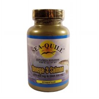 Sea Quill Omega 3 Salmon 60 softcaps | Jantung, Kolesterol