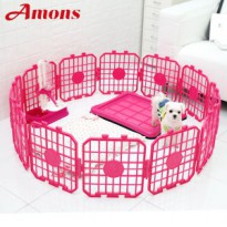 [Amons] Dog Fence happy 12p Easy assembly made in korea