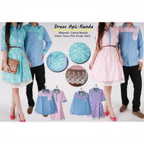 Baju Couple | Dress Pasangan | ApL Renda