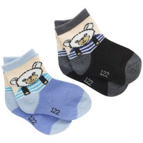 HOPING Kaos Kaki Bayi bear 2 pcs KKB557 s/d KKB561