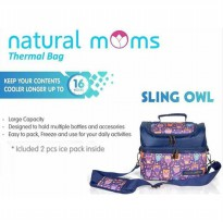 Natural Moms Cooler Bag Sling Owl-Thermal bag
