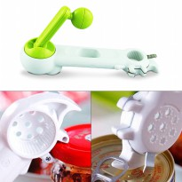 Kitchen Can Do™ 6-in-1 Opener | The Ultimate Can Opener - Pembuka Botol Multifungsi