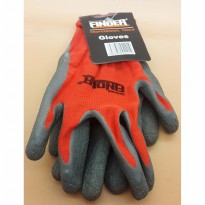 FINDER RED GLOVES safety professional tools / sarung tangan Shield