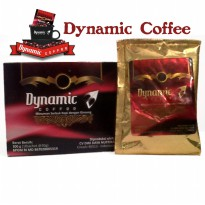 Kopi Dynamic New Coffee Kopi Cinta & Stamina Isi 30 Sachet Herbal Alami