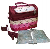 Natural Moms Cooler Bag Sling Polka-Thermal Bag