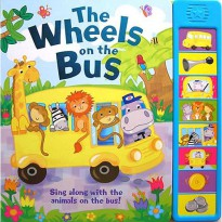 Buku Anak THE WHEEL ON THE BUS WITH 8 SUPER SOUNDS!