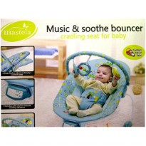 Bouncer Bayi / Baby Bouncer MASTELA MUSIC AND SOOTHE BLUE