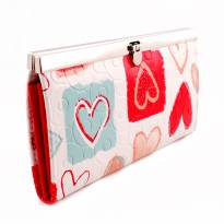 DW 13640 Red Heart Wallet
