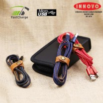 INNOVO Jeans Kabel Charger Data Micro USB Fast Charging 3.3A - DC074