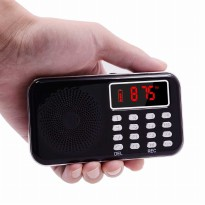 Portable FM Radio MP3 Player Recorder