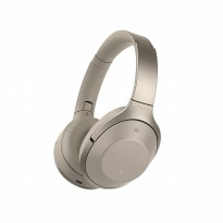 Sony Noice Cancelling Bluetooth Headphone MDR-1000X - Beige