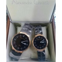 Alexander Cristie Couple 8547 Black Rosegold Original