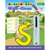[HelloPandaBooks] Letterland Wipe-Clean Spelling Book (Read, write & spell 100 high-frequency words)