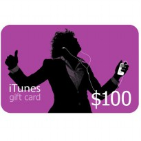 iTunes Gift Certificate / Card US $100