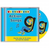 [HelloPandaBooks] Letterland Action Songs (CD) - Sing the songs