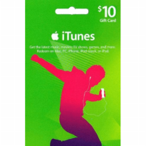 iTunes Gift Certificate / Card US $10