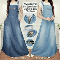 SB Collection Dress Maxi Brenda Gamis Overall Jumbo Wanita