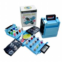 Foldable Sewing Box Kit Set - Peralatan Menjahit