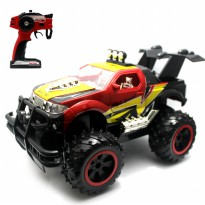 Mainan Remote Control RC Extreme Monster Truck Red