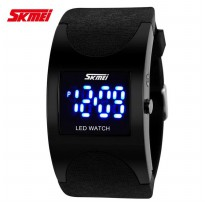 SKMEI 0951 Silicon Wristband LED Watch Water Resistant 30m / Jam LED Gelang - Jam Tangan