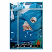 11165 kiddy baby Lengkap set Domba  newborn +