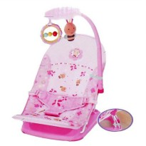 Mainan Bayi MASTELA INFANT SEAT + TOY PINK