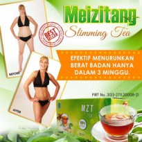 Meizitang Slimming Tea 100% Original / MZT Teh pelangsing Herbal Alami