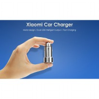 [ELTAMA] Xiaomi Car Charger - Metal Style - MAX 3.6A DUAL PORT - SILVER
