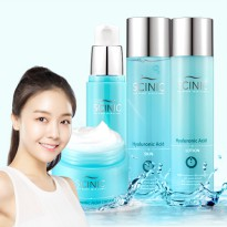 [Scinic] Hyaluronic Set of 4 (Skin+Lotion+Essence+Cream)