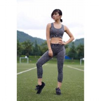 Baju Sport Gym Fitnes Olahraga Set 7162 Bra & Lengging 7-8 Import Best Seller
