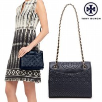 TORY BURCH FLEMING QUILTED MEDIUM SIZE