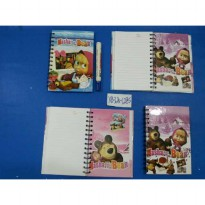 BUKU RING INDEX SEDANG MASHA AND THE BEAR XB32K-1285