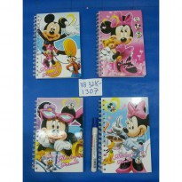 BUKU RING INDEX BESAR MICKEY MINNIE XB32K-1307