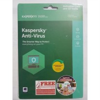 Kaspersky Anti-Virus 3 User 2018