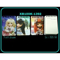 MEMO NOTES TEGAK CUTE DOLL XB100K-1392