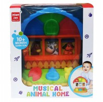 Mainan Bayi MUSICAL ANIMAL HOME 393 - 02468
