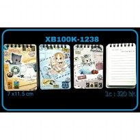 MEMO NOTES TEGAK VINTAGE CAT BUCKS XB100K-1238