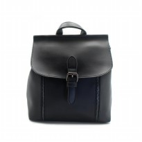 London Berry by HUER - Kenny 3 Ways Backpack Black