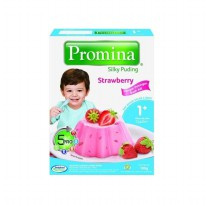 PROMINA Silky Puding Strawberry 100 gram x 2 pcs