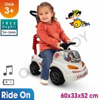 Ocean Toy Yotta Ride On Mobil Ambulance Mainan Anak PMI
