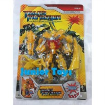 Mainan Robot Transmutation Super Warrior