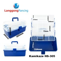 Box lure dan tackle Kamikaze HS 305