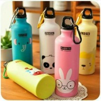 BOTOL AIR MINUM STAINLESS SPORTS BICYCLE ANIMAL 500 ML 2144